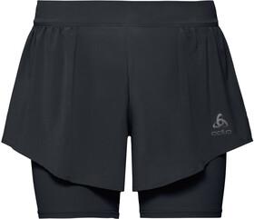 Zeroweight Slate blackMedium Pantalones Odlo CortosHombreDark WH92DEI